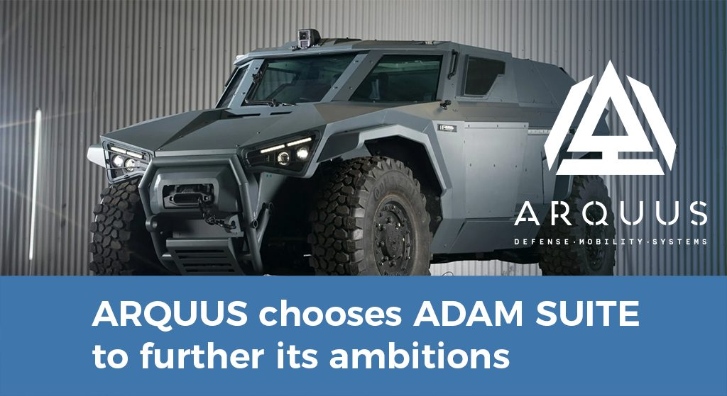 ARQUUS chooses ADAM to further its ambitions